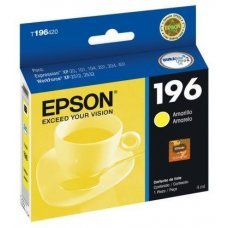 Cartucho de Tinta Epson 196-4 Amarelo Original 4ml T196420 - Expression XP204 XP411 WF2532