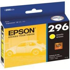 Cartucho de Tinta Epson T296420 T296420AL Amarelo XP-231 XP-431 XP-241 XP-441 Original 4ml
