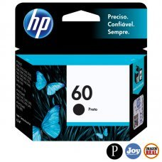 Cartucho HP 60 Preto Original 4,5 ml (CC640WB) para HP Deskjet F4280 F4480 C4680 D110