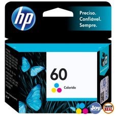 Cartucho HP 60 CC643WB Colorido Original