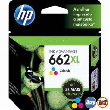 Cartucho HP 662XL CZ106AB Colorido Original