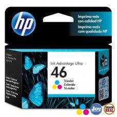 Cartucho HP 46 Colorido Original (CZ638AL) para HP DeskJet 2529 4729 5738