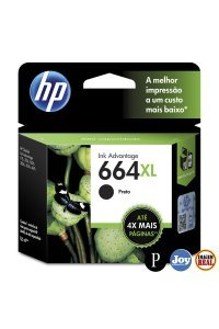 Cartucho HP 664XL F6V31AB Preto Original