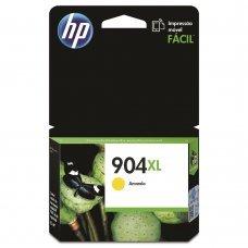 Cartucho HP 904XL Amarelo Original (T6M12AL) Para HP Officejet 6970
