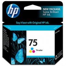 Cartucho HP 75 Colorido Original (CB337WB) para HP Deskjet D4360, Photosmart C4424 C4440 C4524