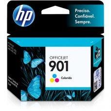 Cartucho HP 901 Colorido Original (CC656AB) para HP Officejet J4660 J4524 J4624 4500