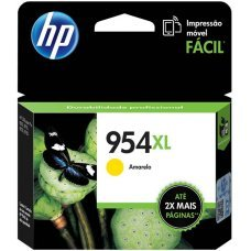 Cartucho HP 954XL Amarelo Original (L0S68AB) para HP Deskjet 7720 7740 8210 8710 8720
