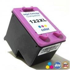 Cartucho HP 122XL Colorido Compatível - Deskjet D1000 D2000 2050 3050