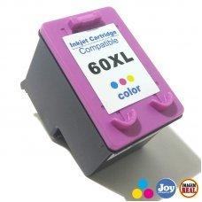 Cartucho HP 60XL Colorido Compatível 12.5ML