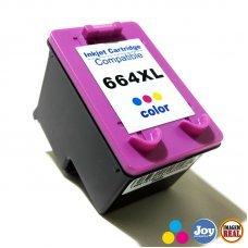 Cartucho HP 664XL Colorido Compatível 12ML