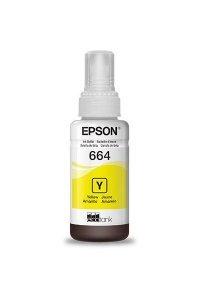 Tinta Epson T664420AL T664 Amarelo 70ml Original