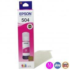 Garrafa de Tinta Epson 504 Magenta Original 70ml 6K