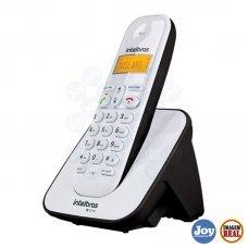 Telefone sem Fio Identificador de Chamadas TS 3110 Branco e Preto Intelbras