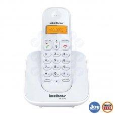 Telefone sem Fio Identificador de Chamadas TS 3110 Branco Intelbras