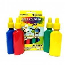 Cola Colorida com 4 Cores 23g 2604 Acrilex