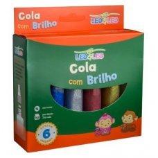Cola com Glitter 6 Cores 25g Leo & Leo
