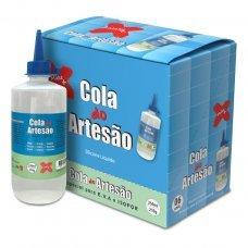 Cola do Artesão Silicone Líquida 210g 250 ml Make+