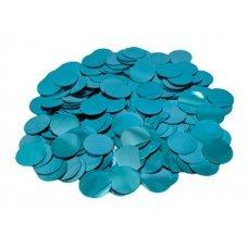 Confete Redondo 1cm Metalizado Azul Para Balão 10g 4881 Make+