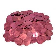Confete Redondo 1cm Metalizado Rosa Para Balão 10g 4880 Make+