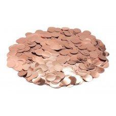 Confete Redondo 1cm Metalizado Rose Gold Para Balão 10g 4884 Make+