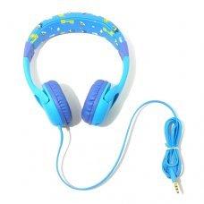 Fone de Ouvido Infantil Azul Earphone EJ-K01 H'Maston