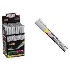 Giz Líquido 6mm Prata Neon GZ0621 Brw