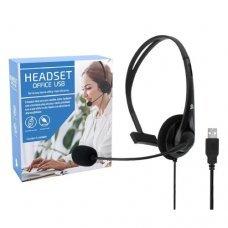 Headset com Microfone Office USB 015-0101 5+