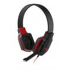 Headset com Microfone Gamer PH073 Preto e Vermelho Multilaser
