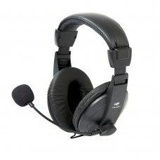 Headset com Microfone Voicer Comfort PH-60BK C3 Tech