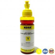 Refil de Tinta Epson Amarelo Compatível 100ml T664220 - L110 L120 L200 L355 L455 L555