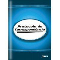 Livro Protocolo de Correspondência 154x216mm com 52 Folhas São Domingos
