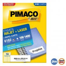 Etiqueta Adesiva Pimaco 6182 100 Folhas
