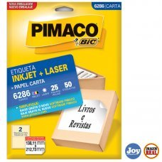 Etiqueta Adesiva Pimaco 6286 25 Folhas