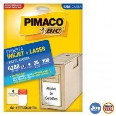 Etiqueta Adesiva Pimaco 6288 25 Folhas