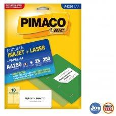 Etiqueta Adesiva Pimaco A4250 25 Folhas