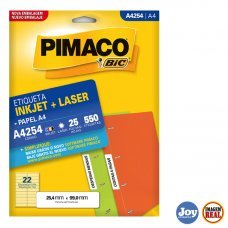Etiqueta Adesiva Pimaco A4254 25 Folhas