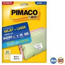 Etiqueta Adesiva Pimaco A4260 25 Folhas