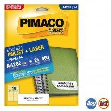 Etiqueta Adesiva Pimaco A4262 25 Folhas