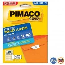 Etiqueta Adesiva Pimaco A5Q1534 12 Folhas