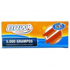 Grampos Cobreado 26/6 Cx c/5.000 uni - GR5001 BRW / Loja