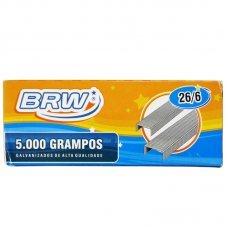 Grampos Galvanizado 26/6 Cx c/5.000 uni - GR5000 BRW / Loja