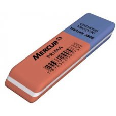 Borracha Mercur Prima Vermelha/Azul - 1 unidade