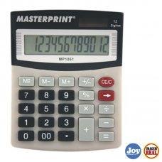Calculadora Eletrônica 12 Digitos Masterprint - MP-1061