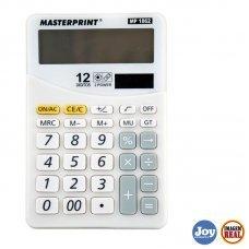 Calculadora Eletrônica 12 Digitos Masterprint - MP-1062