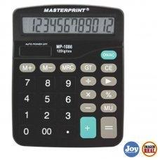 Calculadora Eletrônica 12 Digitos Masterprint - MP-1086