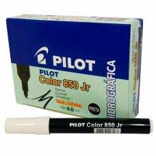 Caneta Hidrográfica 4.0mm Color 850 Jr Preta Pilot