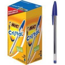 Caneta Esferográfica Bic Cristal 1 Unidade - Azul