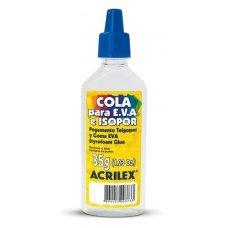 Cola EVA e Isopor 35g Acrilex