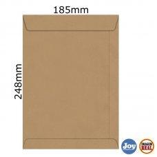 Envelope Kraft 185x248 80g