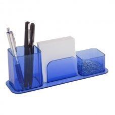 Porta Lápis Canetas e Lembretes Azul Dello